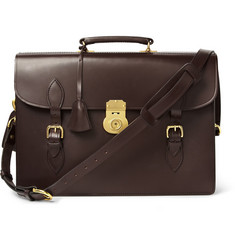 Swaine Adeney Brigg Westminster Leather Briefcase