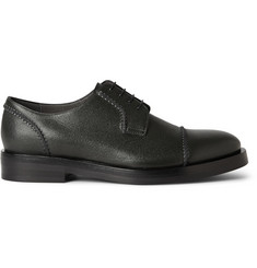 Lanvin Textured-Leather Derby Shoes