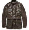 Belstaff - Panther Waxed-Leather Jacket