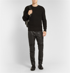 Belstaff Westmore Slim-Fit Leather Biker Trousers