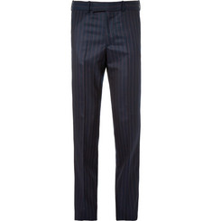 Alexander McQueen Navy Slim-Fit Wool and Cashmere-Blend Suit Trousers