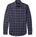 Alexander McQueen - Frayed Plaid Cotton Shirt