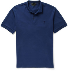 Alexander McQueen Cotton-Pique Polo Shirt