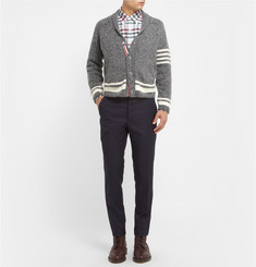 Thom Browne Button-Down Collar Check Check Cotton Shirt
