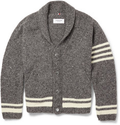 Thom Browne Wool and Mohair--Blend Cardigan