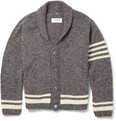 Thom Browne - Wool and Mohair--Blend Cardigan