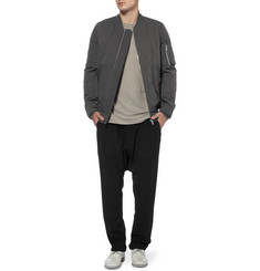 Rick Owens Padded Cotton-Blend Bomber Jacket