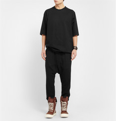 Rick Owens Oversized Cotton-Jersey T-Shirt