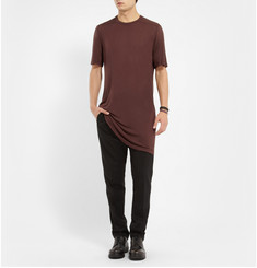 Rick Owens Oversized Long-Length Jersey T-Shirt