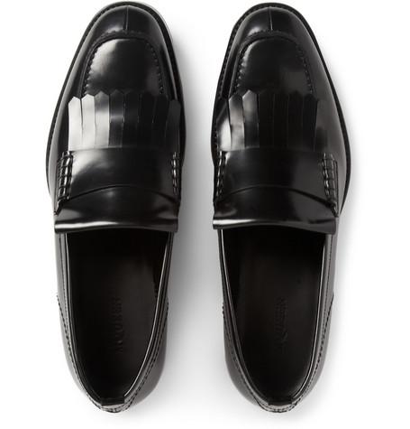 Mens Fringe Shoes
