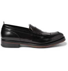 Alexander McQueen Fringed Leather Loafers