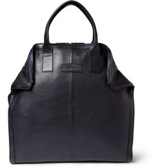 Alexander McQueen De Manta Leather Tote Bag