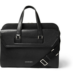 Alexander McQueen Heroic Leather Briefcase