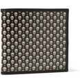 Alexander McQueen - Leather and Printed Coated-Canvas Billfold Wallet