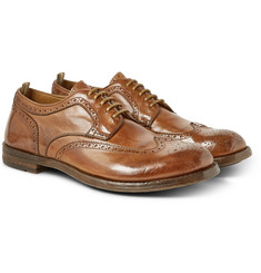 Officine Creative Anatomia Leather Derby Brogues