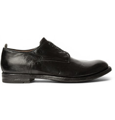 Officine Creative Anatomia Leather Oxford Shoes