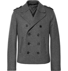 Neil Barrett Double-Faced Wool-Blend Peacoat