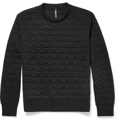 Neil Barrett Lightly-Quilted Jersey Sweatshirt