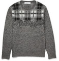 Neil Barrett - Checked Knitted Sweater