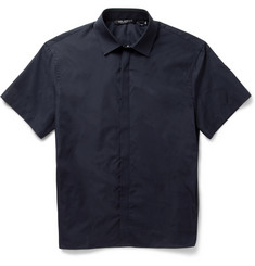 Neil Barrett Boxy-Fit Short-Sleeved Cotton Shirt