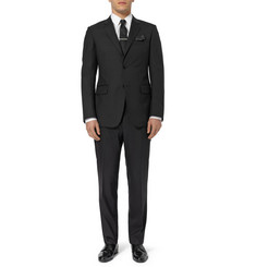 Gucci Black Brera Slim-Fit Wool Suit