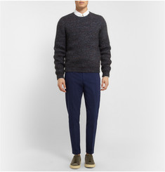 McQ Alexander McQueen Slim-Fit Cotton-Blend Trousers