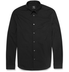 McQ Alexander McQueen Slim-Fit Cotton-Blend Shirt