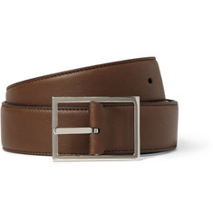 Loro Piana Reversible 3.5cm Leather Belt
