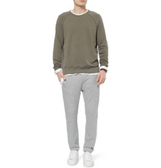 James Perse Washed Supima Cotton-Jersey Sweatshirt