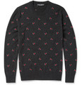 Dolce & Gabbana Embroidered Cashmere Sweater