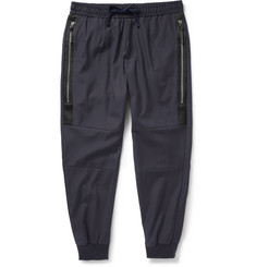 Dolce & Gabbana Tapered Wool-Blend Twill Sweatpants