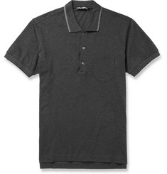 Dolce & Gabbana Cotton-Piqué Polo Shirt