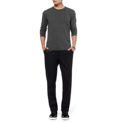 Dolce & Gabbana Long-Sleeved Cotton-Jersey T-Shirt