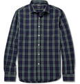Todd Snyder - Liam Plaid Cotton Shirt