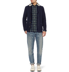 Todd Snyder Liam Plaid Cotton Shirt