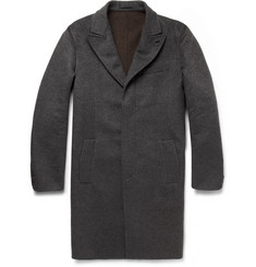 Berluti Water-Repellent Double-Faced Cashmere Overcoat
