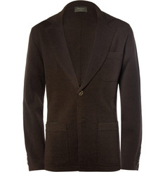 Berluti Knitted Wool Blazer