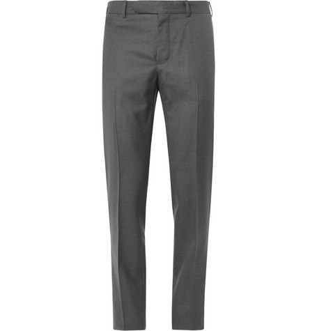 Berluti Slim-Fit Wool Trousers