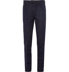 Berluti Slim-Fit Cotton and Silk-Blend Denim Trousers