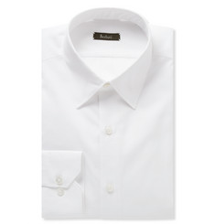 Berluti White Cotton-Poplin Shirt