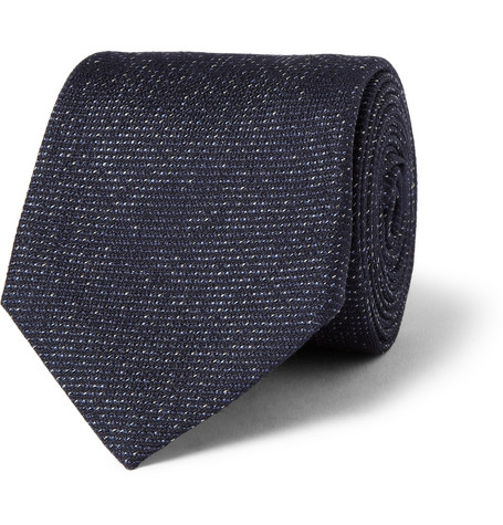 Berluti Seven-Fold Silk and Wool-Blend Jacquard Tie
