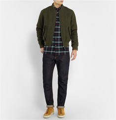 Aspesi Harris Tweed Bomber Jacket