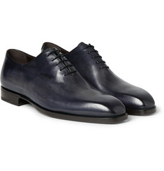 Berluti Alessandro Capri Venezia Leather Oxford Shoes