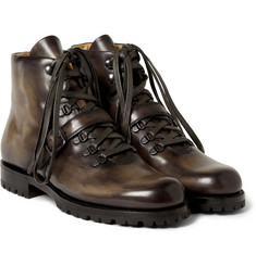 Berluti Brunico Venezia Leather Boots