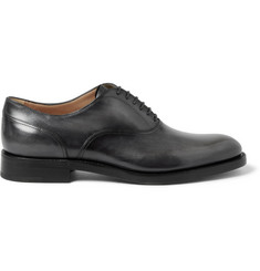 Berluti Polished-Leather Oxford Shoes