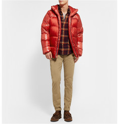 Patagonia Fitz Roy Down-Filled Quilted Hooded Coat