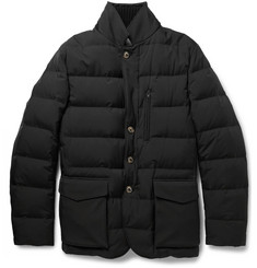 Loro Piana Storm System® Windstretch Down-Filled Quilted Jacket