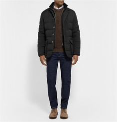Loro Piana Windstretch Storm System Down-Filled Quilted Jacket