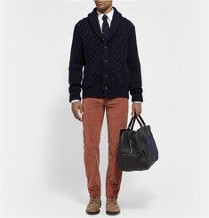 Loro Piana Regular-Fit Cotton and Cashmere-Blend Corduroy Trousers