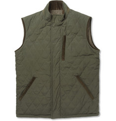Loro Piana Storm System Reversible Quilted Cashmere-Blend Gilet